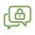 Secure Message image icon