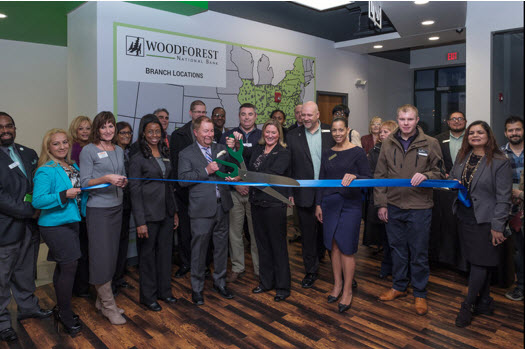 Woodforest opens new community center