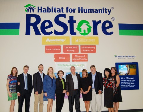 Habitad for Humanity Unveils Donor Wall at Home Improvement Resale  Shop